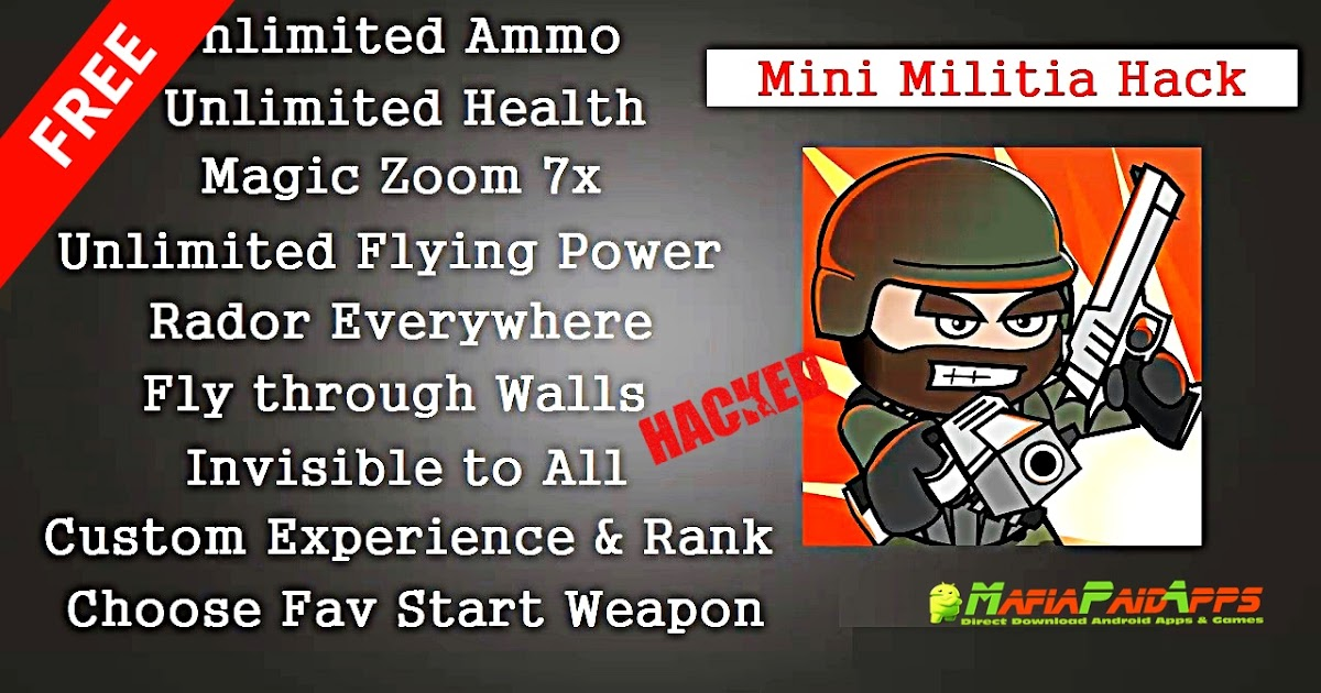 Doodle Army 2 Mini Militia Apk Mod Pro Pack Unlocked For Android