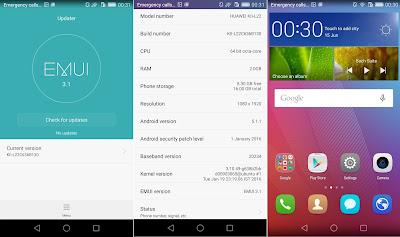 Huawei GR5 Software
