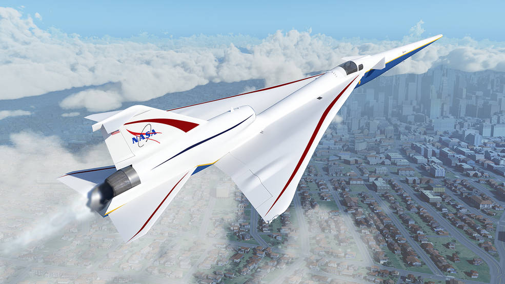 NASA Selects Contractor for Quiet Supersonic Flight Community Testing