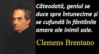 Citatul zilei: 9 septembrie - Clemens Brentano