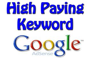 High Paying Keywords List 2018,Google Adsense High CPC Paying Keywords 2018,
