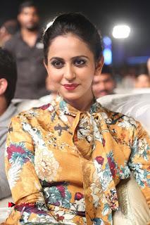 Actress Rakul Preet Singh Stills in Short Dress at Dhruva Pre Release Function  0027.JPG