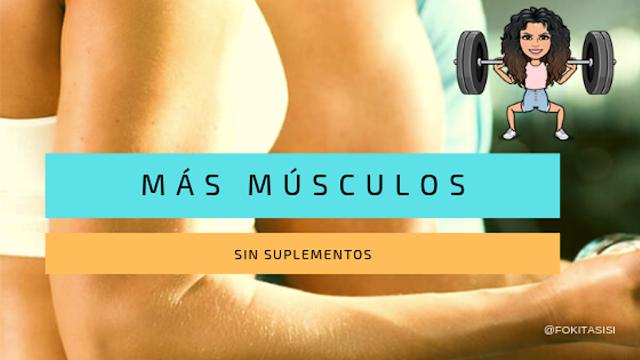 (Imagen) Existen maneras naturales sobre como sacar masa muscular sin  suplementos