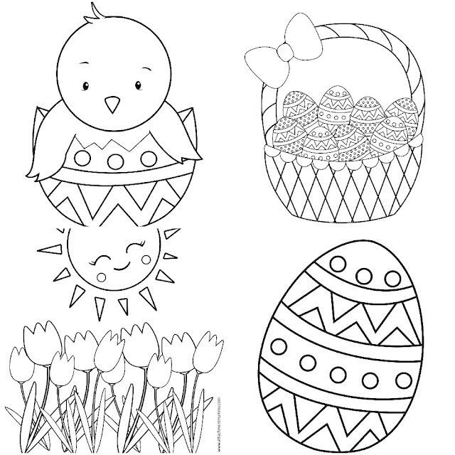 FREE Easter Preschoolers Activity Pack Printable + 5 Pages