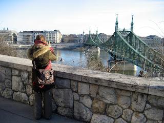 DIY costura: El gorro y la bufanda que me abrigaron en Budapest-Vistas desde Gellert
