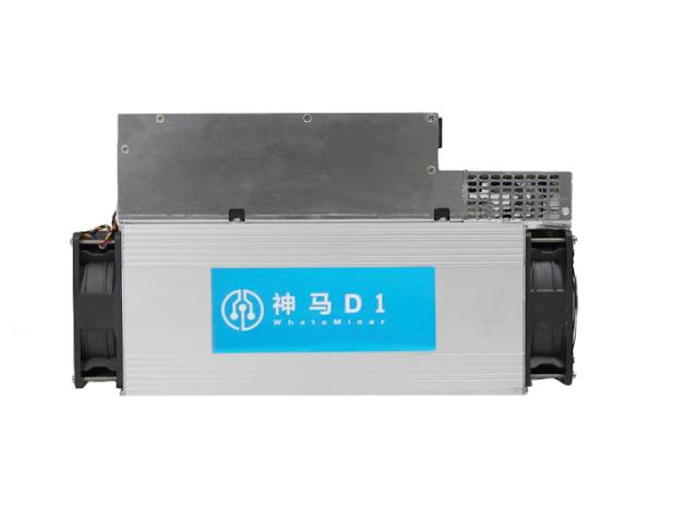 Micro BT Whatsminer D1 Blake256 48th 2200w Second Hand Asic DCR Miner USB 3.1 2200W±10% Blake256r14 Rectangle ≥ 1024MB 512 Bit