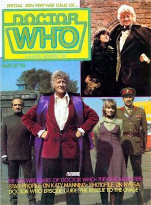Doctor Who Magazine #52, Jon Pertwee