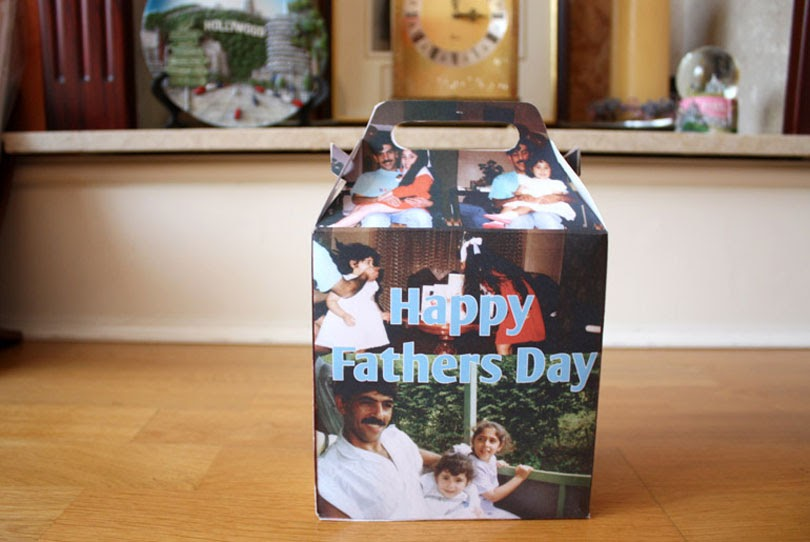 diy paper picture gift box
