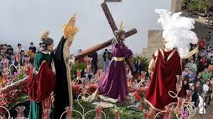 El Rocío de Pasión de Cabra (Córdoba) realizara un romano a caballo para el paso del Santo Cristo