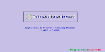 Regulations and Syllabus for Banking Diploma ( JAIBB & DAIBB)