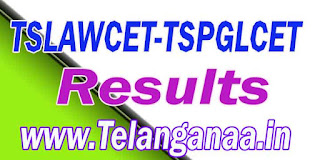 TS Telangana TSLAWCET-TSPGLCET 2018 Results Download