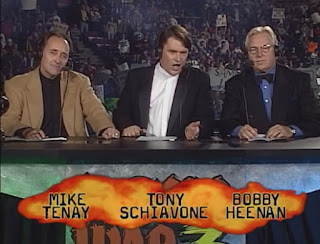 WCW World War 3 1998 - Mike Tenay, Tony Schiavone, Bobby 'The Brain' Heenan
