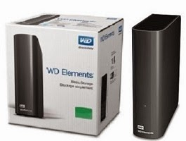 3TB WD Elements Basic Storage Stockage Simplement 3.5″ Powered External Drive for Rs.6860 Only @ ebay (3 Yrs Warranty)
