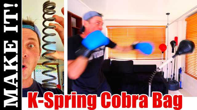 Kewlus Spring Boxing Cobra Punching Bag