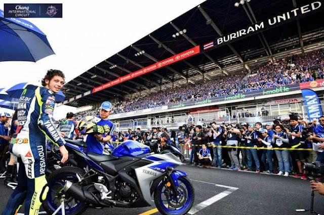 Virus Corona: MotoGP 2020 Buriram Thailand Positif ditunda