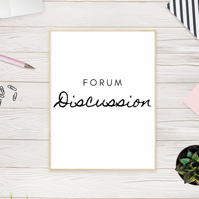 forum discussion submission