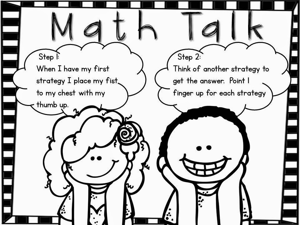 Following First Grade With Mrs. Parker: Math Talk…..The