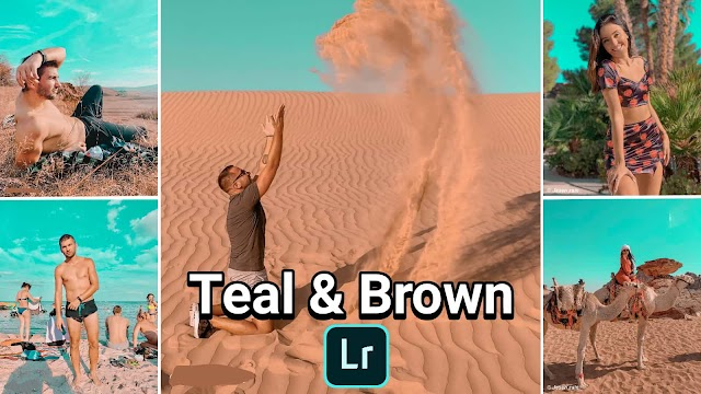 Free Lightroom Presets Teal & Brown