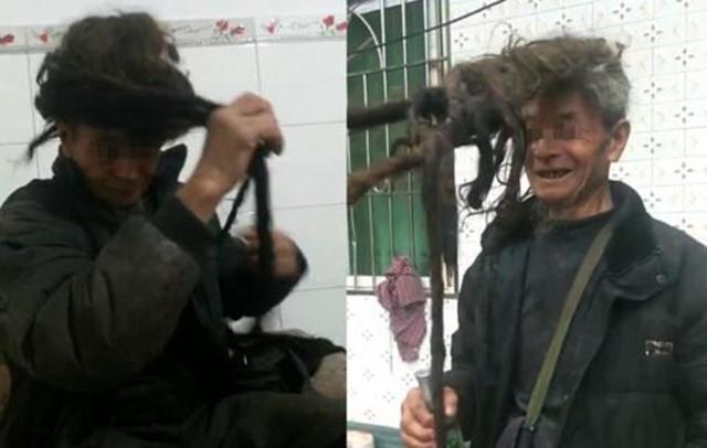Ake Yizheng Pemilik Rambut Terpanjang di dunia - WEIBO