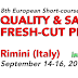 "8th EUROPEAN SHORT-COURSE ON  ""QUALITY OF FRESH-CUT PRODUCE"" 14-16/09/2016"