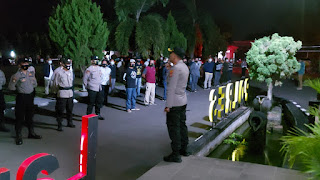 Polres Lampung Utara Gelar Patroli Skala Besar
