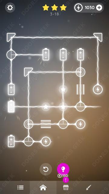 Laser Overload [Intermediate] Level 3-18 Solution, Walkthrough, Cheats