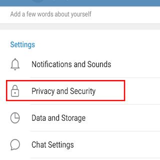 Privasi dan Keamanan Telegram