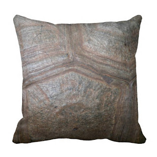 Organic home decor accent throw pillow
