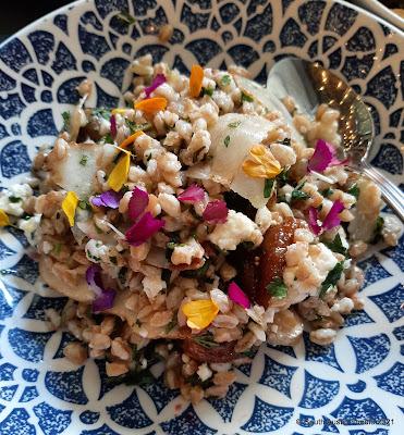 Aba: farro salad