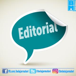 Contoh Teks Editorial (Opini) Tentang Lingkungan Beserta Strukturnya