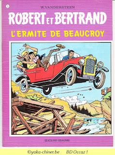 Vandersteen, Robert et Bertrand, tome 1