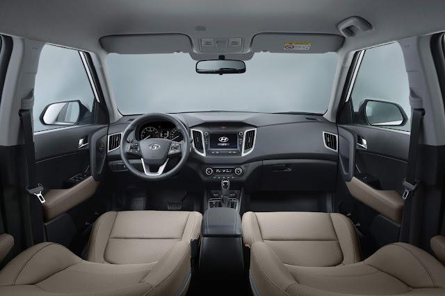 Hyundai Creta 2021 - Preço - interior