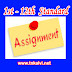 1st - 12th Standard - Assignments & Answer Key - All Subjects - Set 1