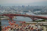 Minato bridge (Osaka, Japón)