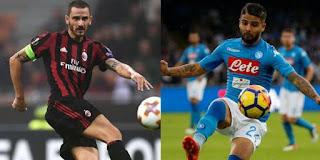 AC Milan vs Napoli Live Stream online 18-11- 2017 Italy - Serie A
