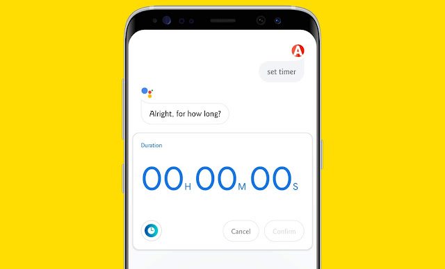 Set Alarm And Ask Time with Google assistant