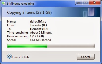 teste WD Elements Portable USB 3.0