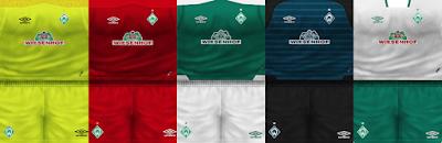 PES 6 Kits Werder Bremen Season 2018/2019 by VillaPilla