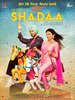 Shadaa First Look Poster 2