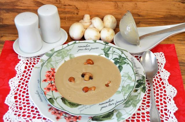 crema de setas con un toque de soja, cremas de setas, recetas de setas, setas, setas recetas, setas recetas de cocina, setas recetas fáciles, setas recetas sencillas, setas recetas vegetarianas, las delicias de mayte,
