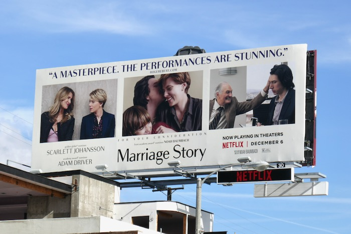 Marriage Story consideration billboard