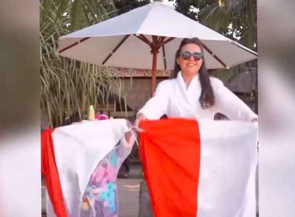 Olivia Jensen Dipolisikan soal Dugaan Penodaan Kehormatan Bendera Negara