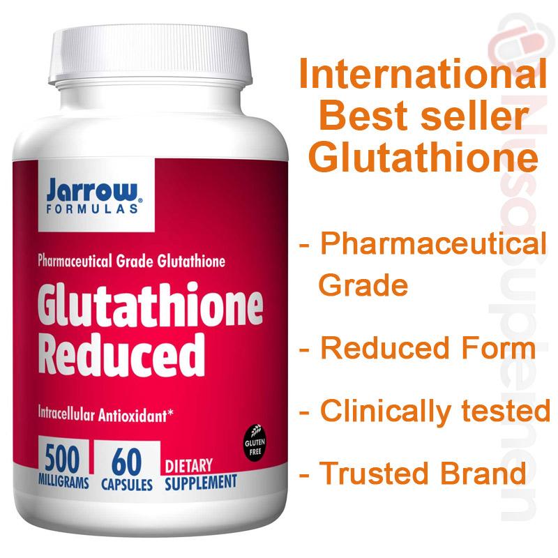 Reduced Glutathione Jarrow Pemutih Wajah Dan Badan