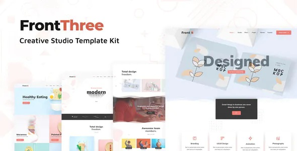 Best Creative Studio Template Kit
