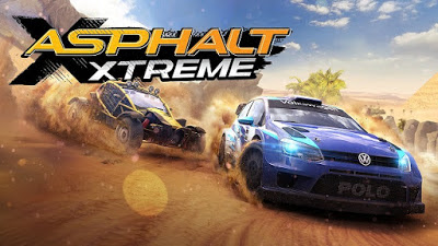 Download Asphalt Xtreme v1.1.0g Mod APK+DATA (Cars Unlocked) Full HD Terbaru Gratis