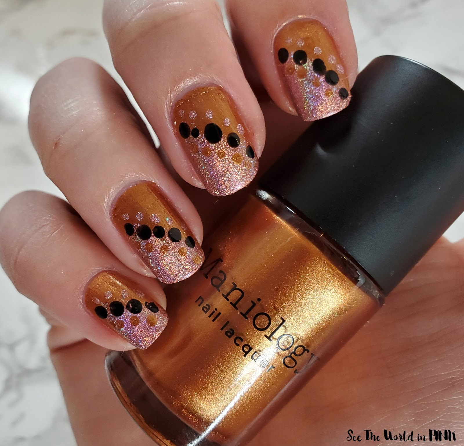 Manicure Monday - Spiced Fall Nails