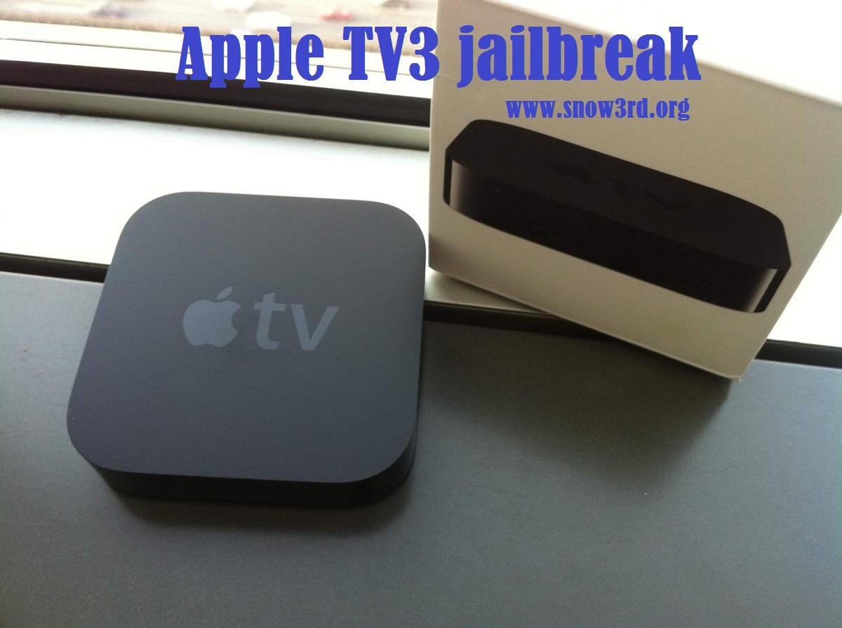 Apple TV3 jailbreak: Best review about Apple TV3 jailbreak