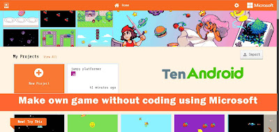 Make own game without coding using Microsoft MakeCode | Build own game no coding