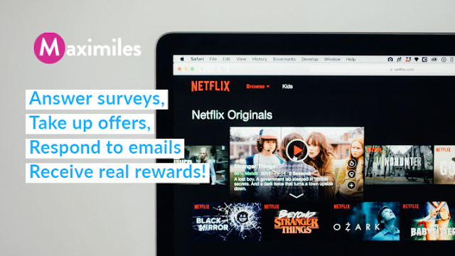 Earn Netflix Gift Card with Maximiles