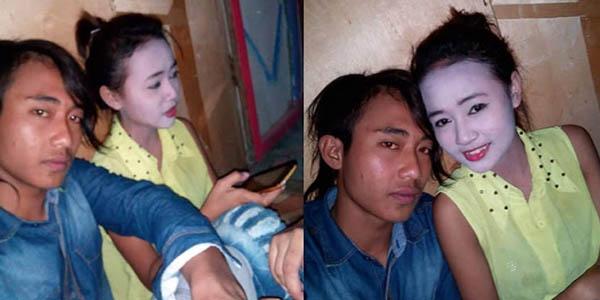 Foto sepasang Kekasih Ini Mendadak Heboh, ada cerita Apa Dibaliknya?